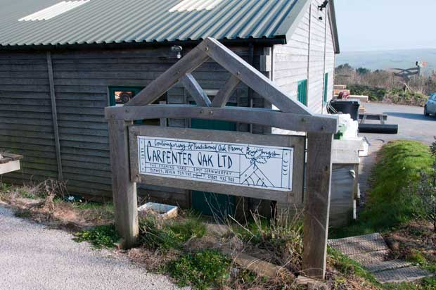 The Carpenter Oak Sign