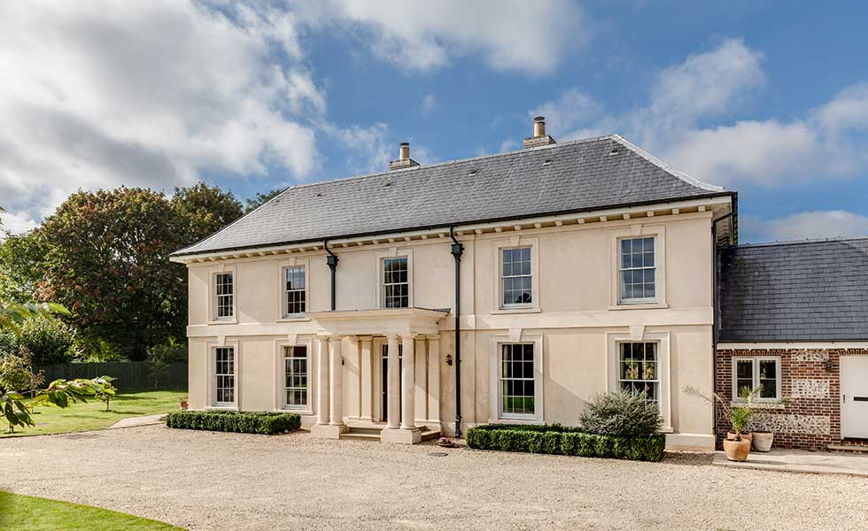 Alex Oliver Associates – This new build takes on traditional style thanks to carefully designed classical details