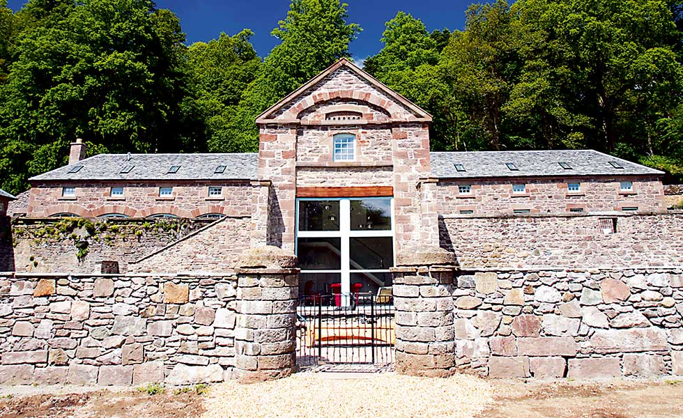Restored Listed Georgian mill