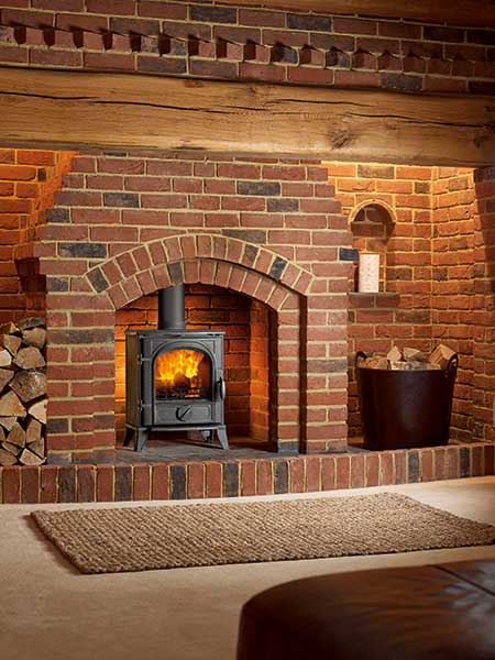 The Sigma 490 woodburning stove from Capital Fireplaces