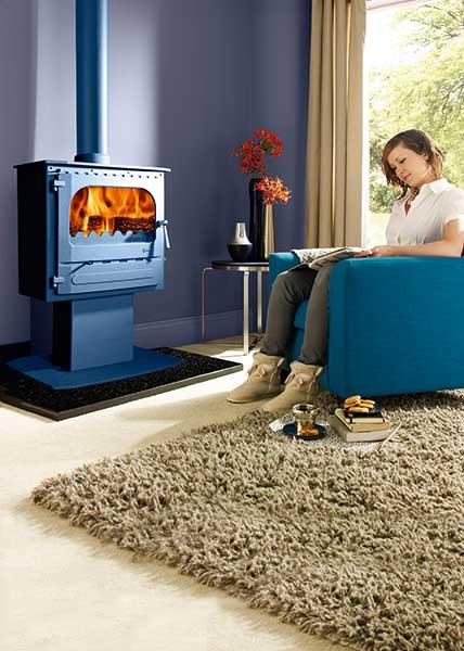 Dunsley's Highlander 5 Enviroburn SOLO slimline woodburning stove