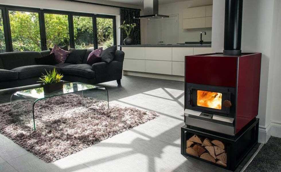 Pyroclassic's IV woodburning stove