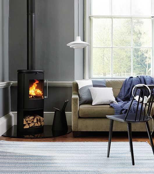 Morso's 6843 woodburning stove
