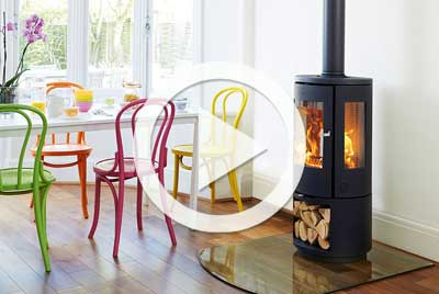 How to install a woodburning stove