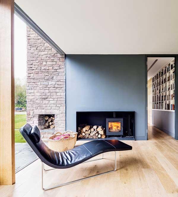 Cosy contemporary interior