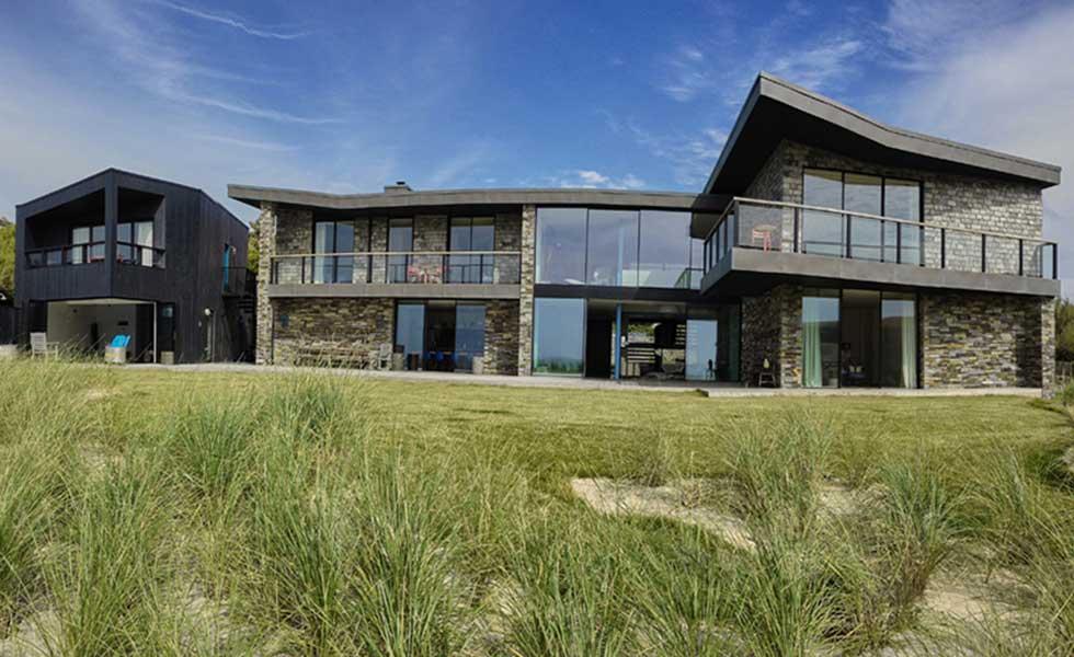 cornish contemporary self build by the sea