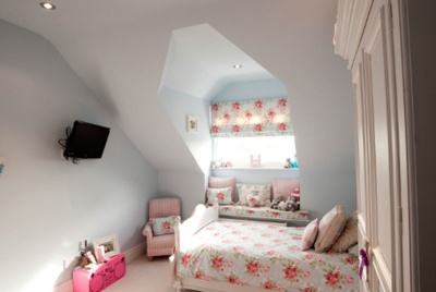 trussloft loft conversion floral bedding