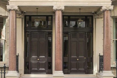 george barnsdale two doors column