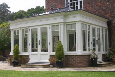 evolution windows orangery garden room two trees