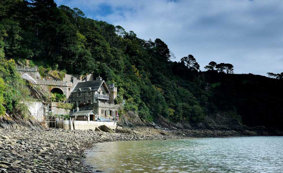 coast side traditional home