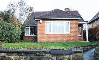bungalow before it was replaced with a new build home