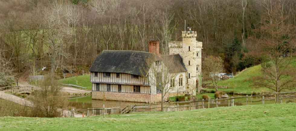 medieval manor new build home