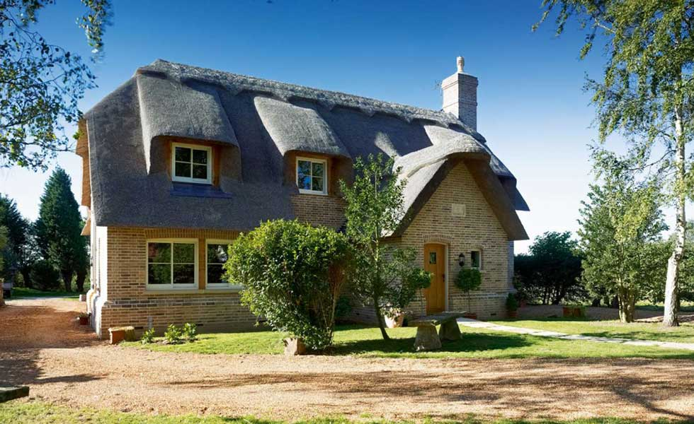 Thatched cottage self build
