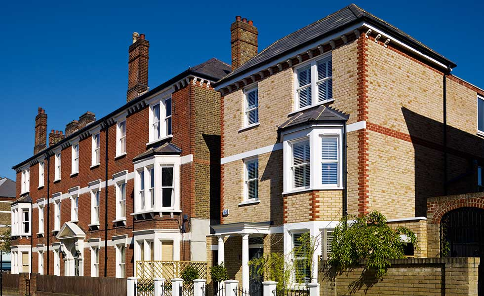 Victorian style self build in London