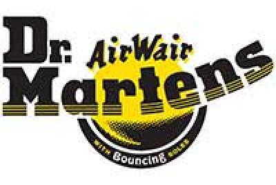 dr martens logo yellow