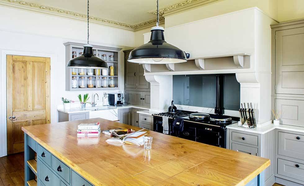 kitchen in a Victorian country house