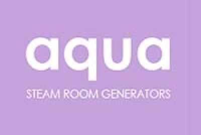 aqua logo lilac
