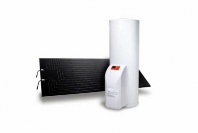 greenewable water heater solar panel