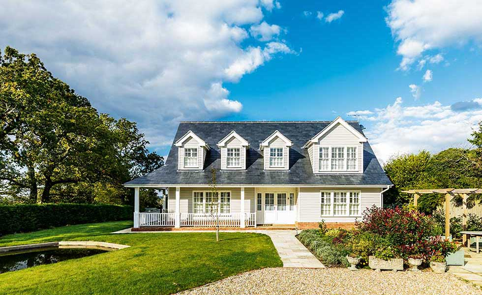 12 american style homes homebuilding renovating for New american house style
