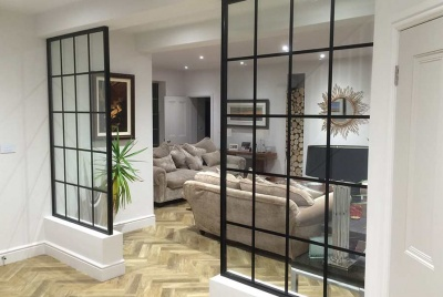 the heritage window company Floor to Ceiling Dividers can make a great focal point for any home.