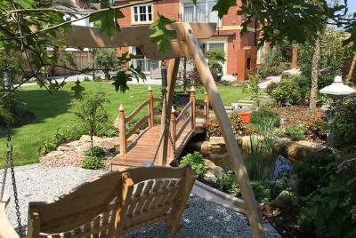 iecho wimbledon garden swinging seat