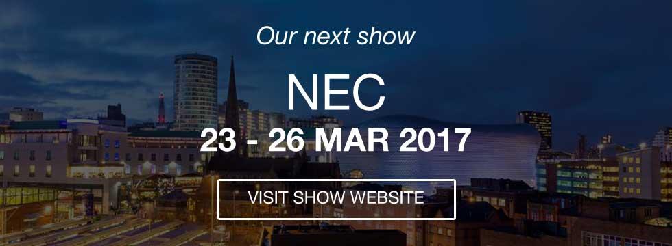 Homebuilding & Renovating Shows - NEC 23-36 Mar 2017