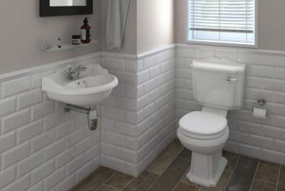 victorian plumbing toilet basin