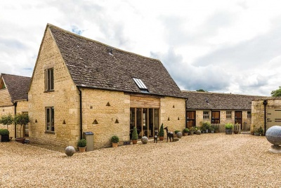 Stone barn conversion in the Cotswolds