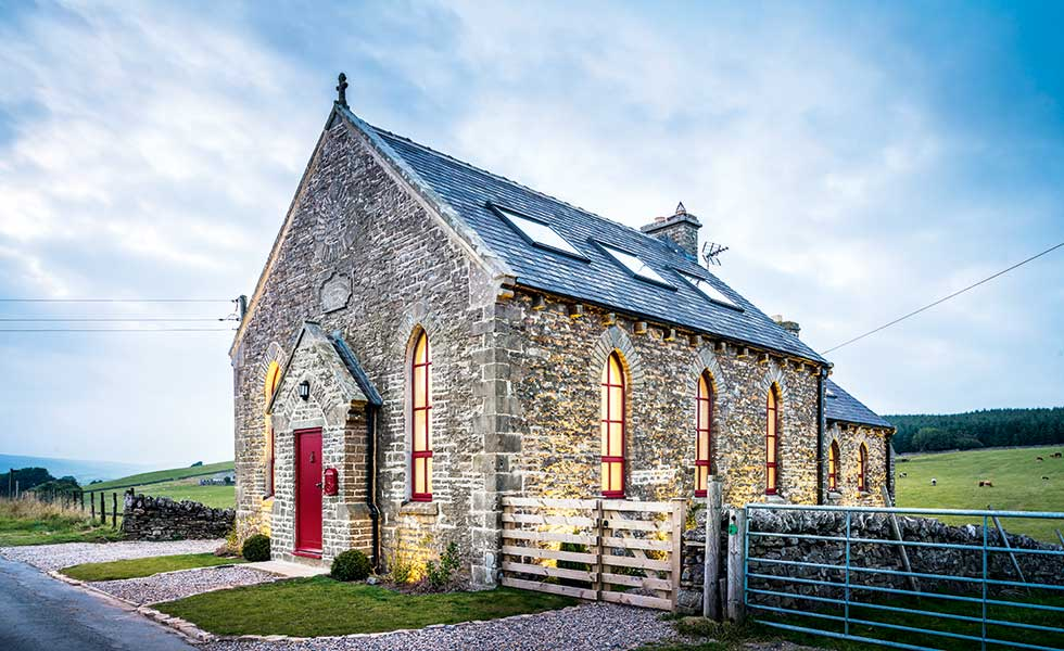 A beautiful chapel conversion in the Pennines