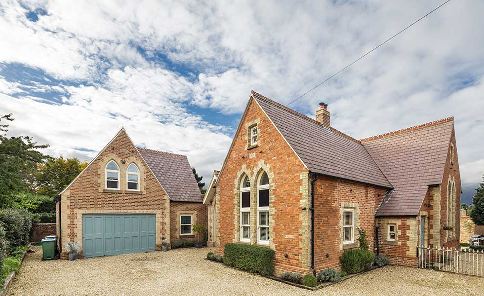 A Victorian School Converted To Family Home