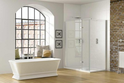 Luxury frameless shower enclosures, designed and manufactured in the UK