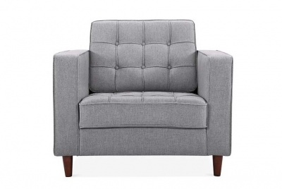 cult furniture grey armchair