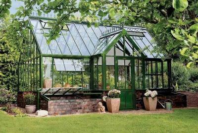 Hartley Botanic garden room glasshouse victorian gardening