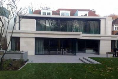 henley stone house glass grass