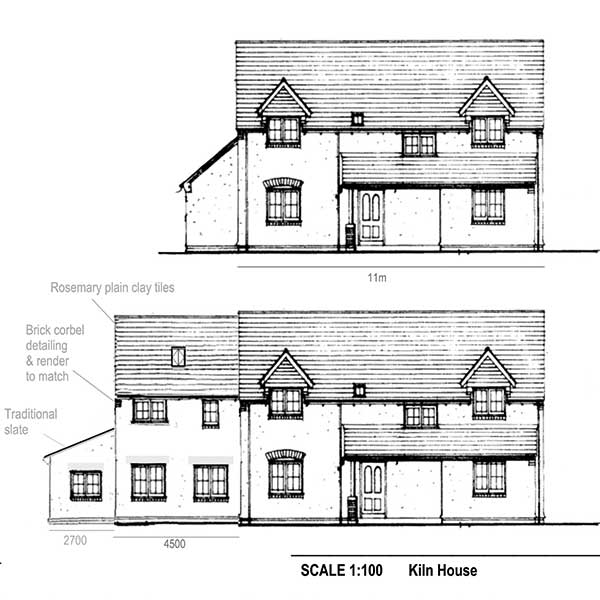 Applying For Planning Permission For An Extension on House Plans With Detached Garage