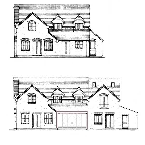 Front Elevation Extension : Applying for planning permission an extension