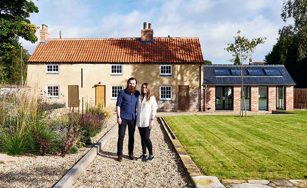 Three listed cottages transformed into single home