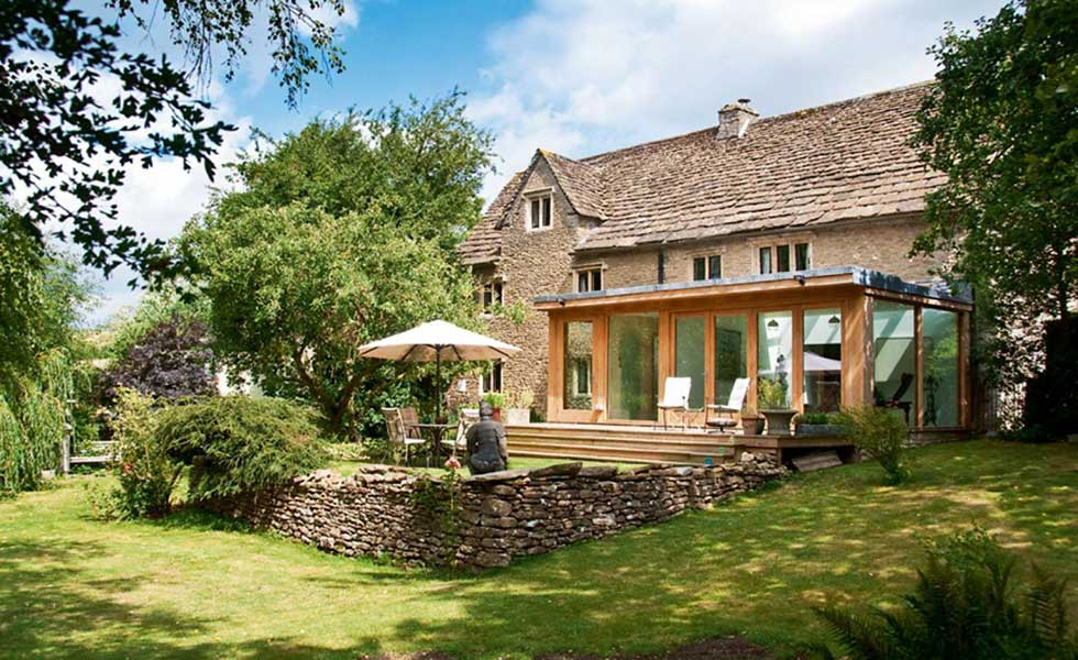 Stone cottage conversion Somerset
