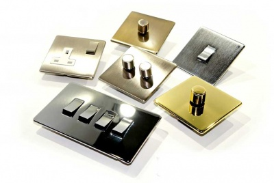 Heritage Brass Studio Range lighting switches