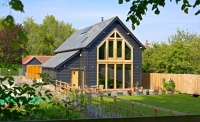 Oakwrights An Oak-framed barn style home