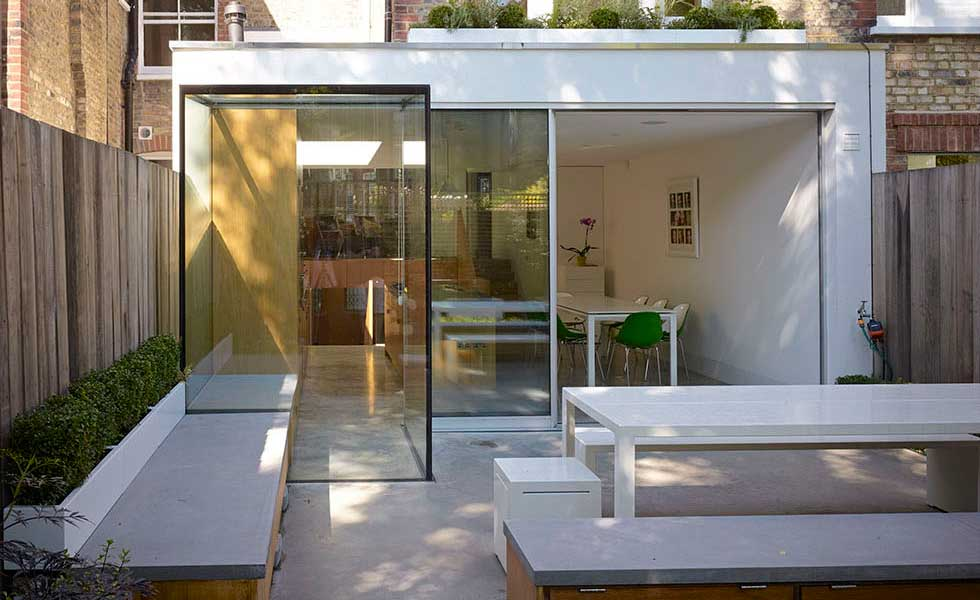 London terrace renovation with rear extension