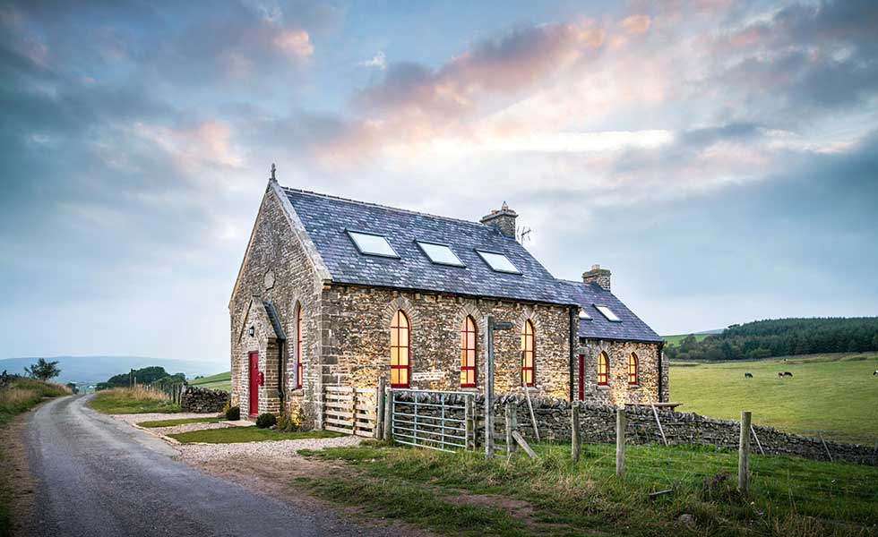 chapel conversion in Teesdale