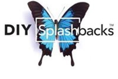 diy splashbacks logo butterfly