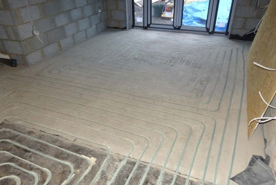 JK Floorheating concrete underfloor heating no build up