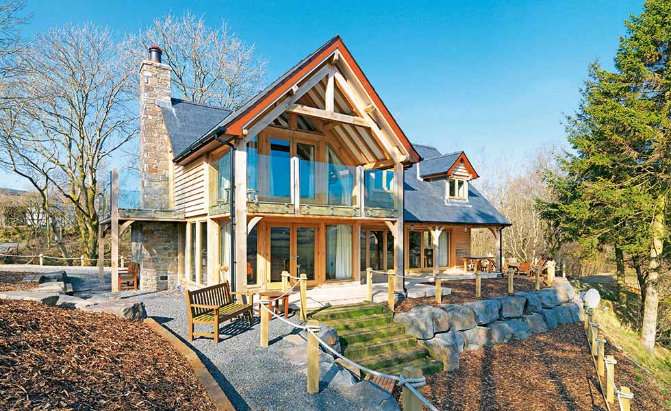 7 amazing chalet self builds from around the world for Self build homes designs