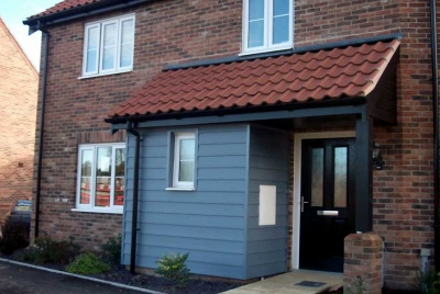 freefoam weatherboard cladding exterior home porch