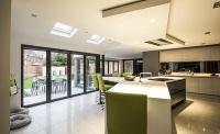 haus glass origin bifold doors kitchen