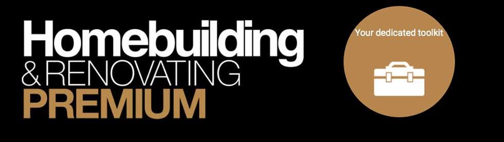 homebuilding premium logo