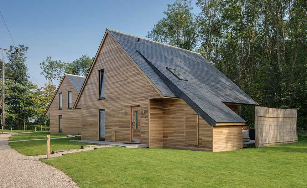 cupa natural slate sloping roof