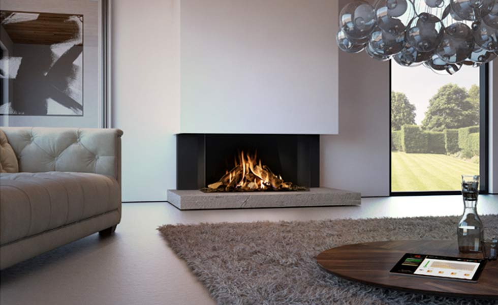 Award-Winning Gas Fires with Easy Release Glass Doors